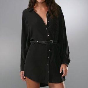 Joie Justina Silk Shirt Dress